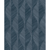 Picture of Oresome Indigo Ogee Wallpaper