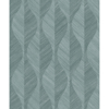 Picture of Oresome Teal Ogee Wallpaper