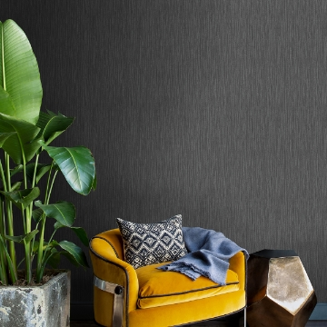 Picture of Abel Charcoal Textured Wallpaper