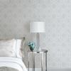 Picture of Frege Light Blue Trellis Wallpaper