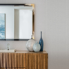 Picture of Wallis Grey Faux Linen Wallpaper