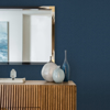 Picture of Hilbert Navy Geometric Wallpaper