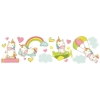 Picture of Baby Unicorns Stickers Wall Art