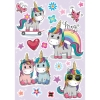 Picture of Colorful Unicorns Wall Stickers