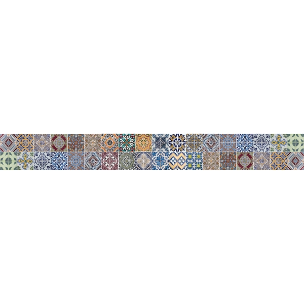 Picture of Azulejos Border Decal