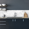 Picture of White Marble Peel and Stick Backsplash