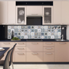 Picture of Grey Clementine Peel and Stick Backsplash
