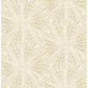 Picture of Soft Gold Sunburst Peel and Stick Wallpaper