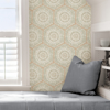 Picture of Peach Harmony Peel and Stick Wallpaper
