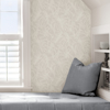 Picture of White Borneo Peel and Stick Wallpaper
