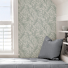 Picture of Sage Borneo Peel and Stick Wallpaper