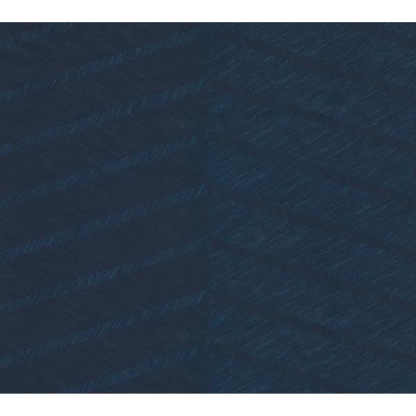 Picture of Indigo Wayward Peel and Stick Wallpaper