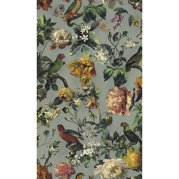 Picture of Claude Sage Floral Wallpaper
