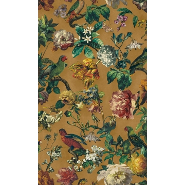 Picture of Claude Yellow Floral Wallpaper