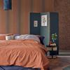 Picture of Pablo Orange Stripe Wallpaper
