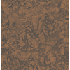 Picture of Auguste Copper Floral Wallpaper