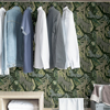 Picture of Greens Cat Nap Peel and Stick Wallpaper