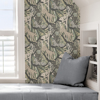 Picture of Cream Grey Cat Nap Peel and Stick Wallpaper