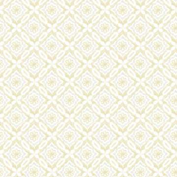 Picture of Hugson Yellow Quilted Damask Wallpaper