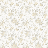 Picture of Glinda Light Yellow Floral Trail Wallpaper