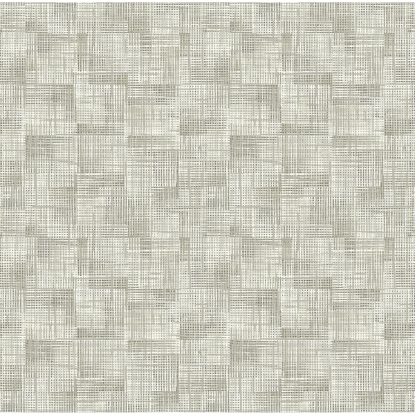 Picture of Ting Taupe Abstract Woven Wallpaper