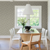Picture of Ting Coffee Abstract Woven Wallpaper