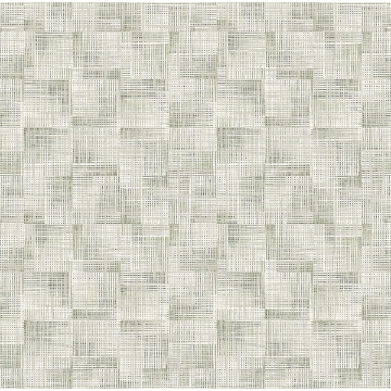 Picture of Ting Sage Abstract Woven Wallpaper
