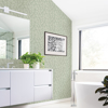 Picture of Coraline Green Leaf Wallpaper