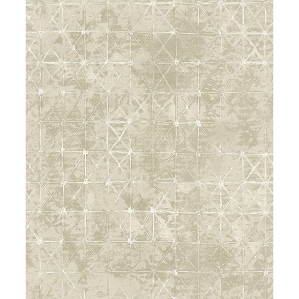 Picture of Odell Cream Antique Tiles Wallpaper