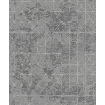 Picture of Odell Slate Antique Tiles Wallpaper