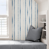 Picture of Blue Indigo Drops Peel and Stick Wallpaper