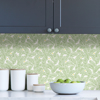 Picture of Green Fernanda Peel and Stick Wallpaper