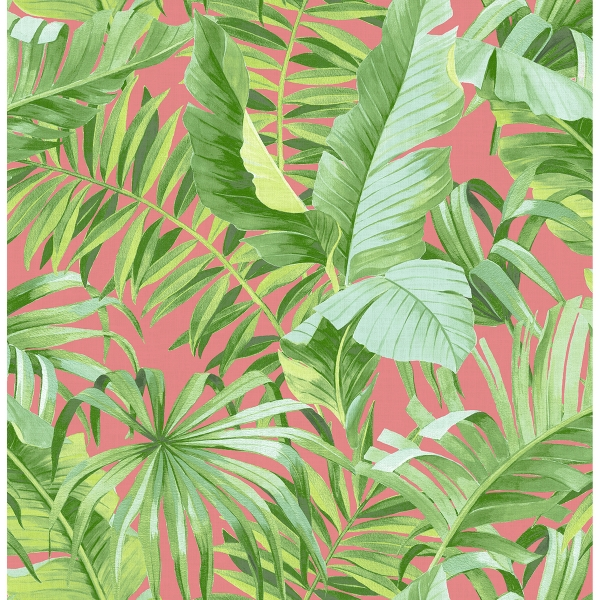 Picture of Coral Maui Peel and Stick Wallpaper