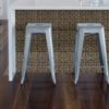 Picture of Camden Antique Bronze Tin Peel and Stick Backsplash Tiles