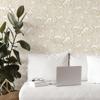 Picture of Cream Merriment Peel and Stick Wallpaper